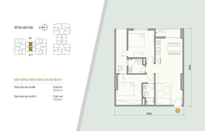 Bán chung cư dự án Sky Central 176 Định Công, Quận Hoàng Mai