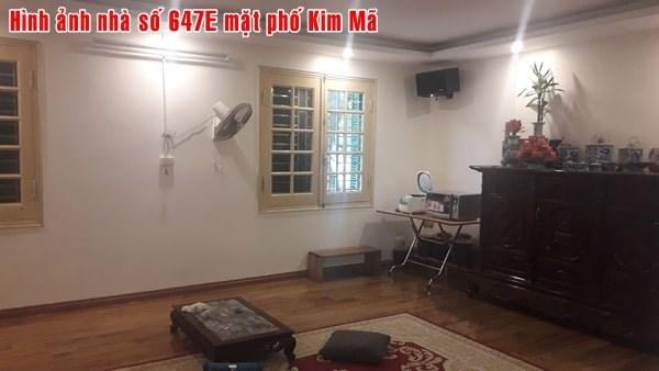 Chính chủ cần bán 2 nhà tại mặt phố Kim Mã và Đê La Thành Nhỏ, Hà Nội