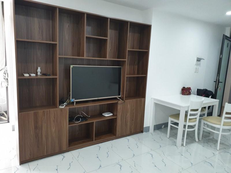 Tòa nhà căn hộ Hoàng Diệu cho thuê căn hộ 2 phòng ngủ