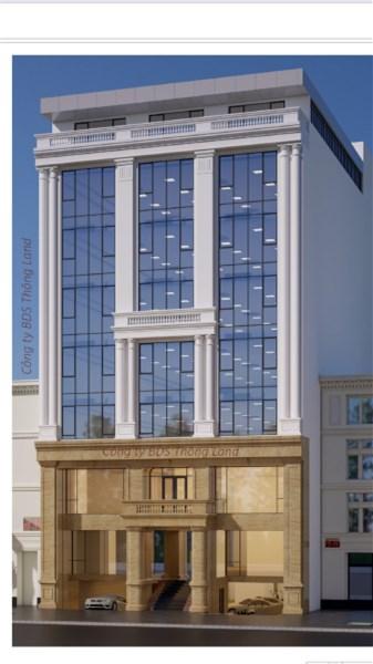 Cho thuê toà nhà 9 tầng mặt phố Hoàng Văn Thái.....Giá:4000 usd