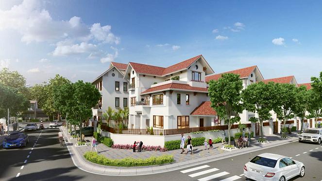 Bán 39 căn biệt thự đẹp ở khu phức hợp Vincom Hà Tĩnh